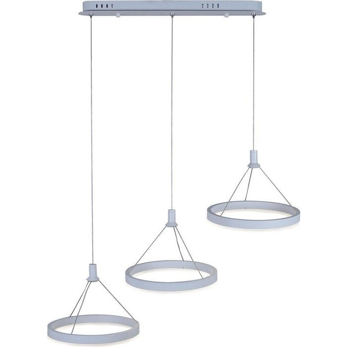 Светильник iLedex Подвесной светодиодный Libra D075-3 WH