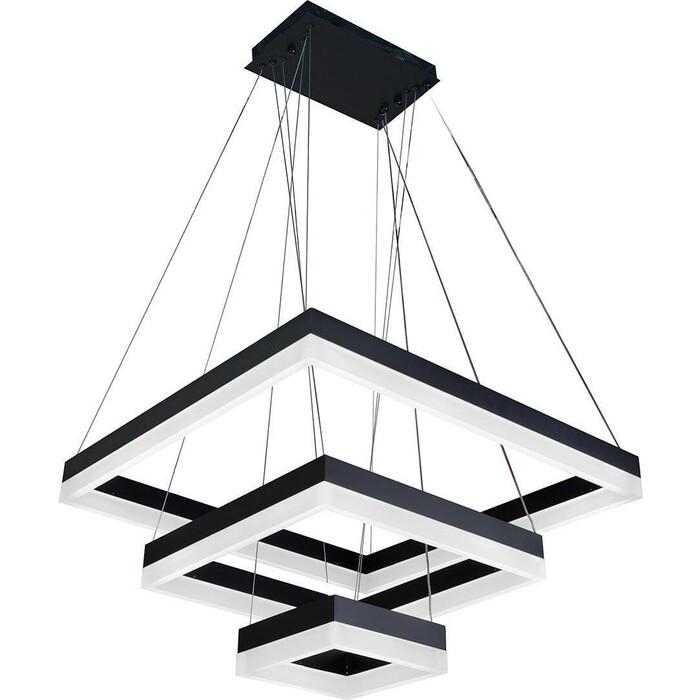 Светильник iLedex Подвесной светодиодный Twins D0319-3 (200X400X600) BK