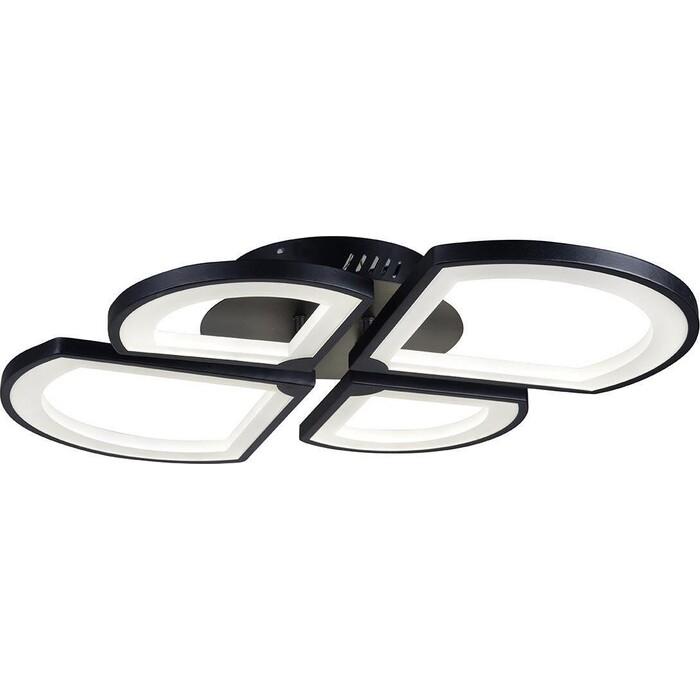 Люстра iLedex Потолочная светодиодная River X024-4 BK