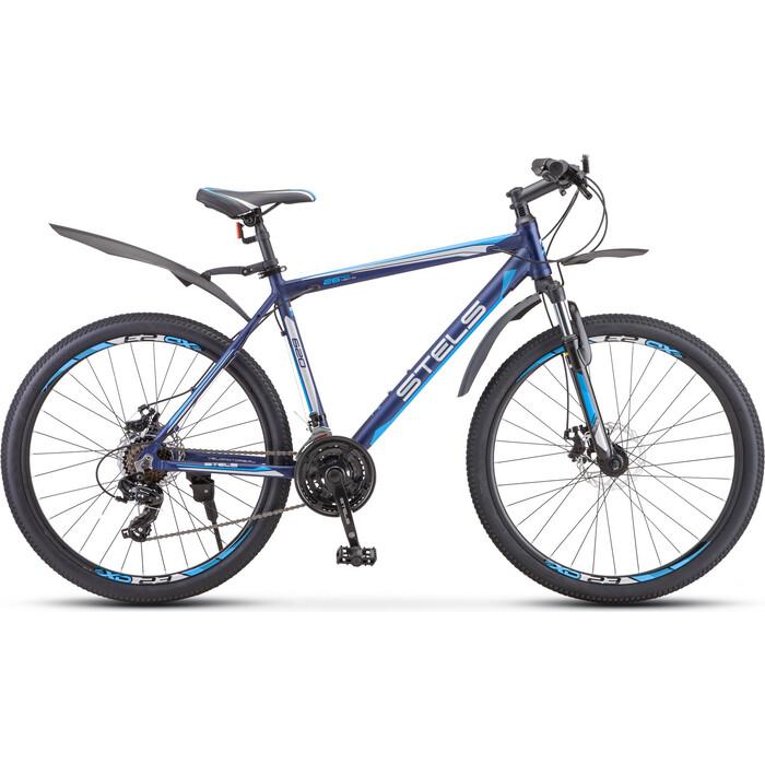 велосипед stels navigator 620 md 26 v010 19 тёмно синий Велосипед Stels Navigator-620 MD 26 V010 19 Тёмно-синий