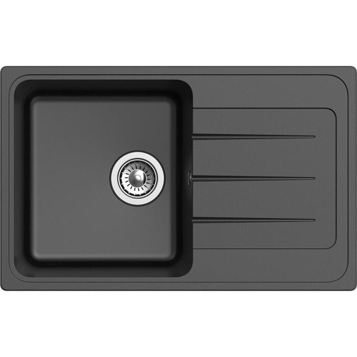 Мойка кухонная Ewigstein Elegant E-50F черный