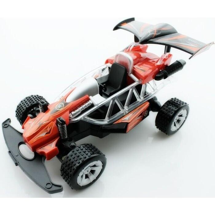 Радиоуправляемая гоночная машинка багги Wangfeng Супергонщик 1/20 + свет красный