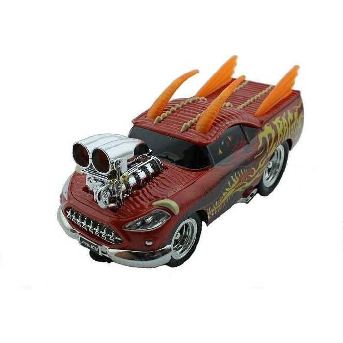 Радиоуправляемая машина Wangfeng Дракон из серии Muscle Car с гоночным Мотором 1/16 + свет звук