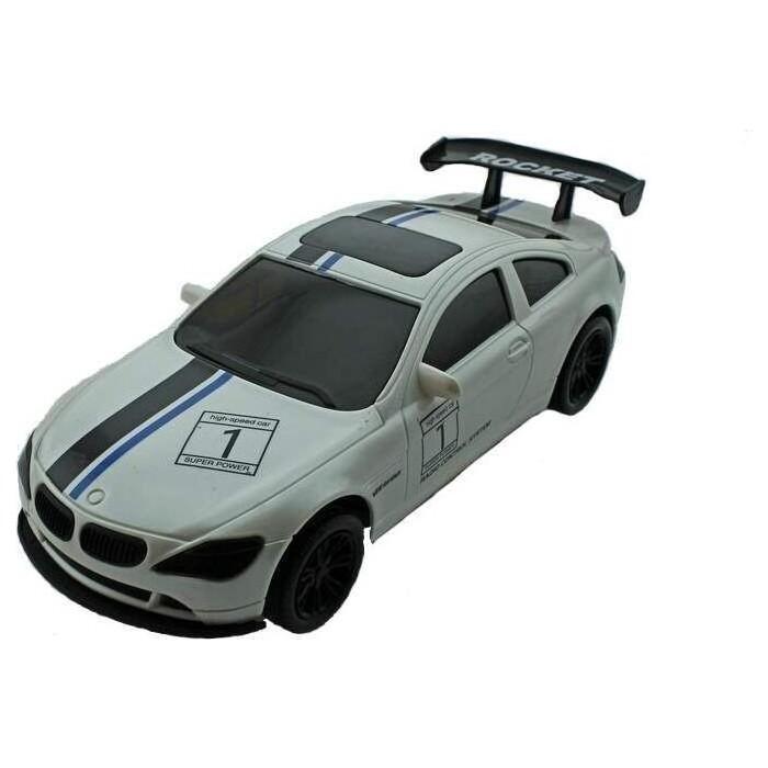 Радиоуправляемая Wangfeng спортивная машина BMW 6 1/18 + свет