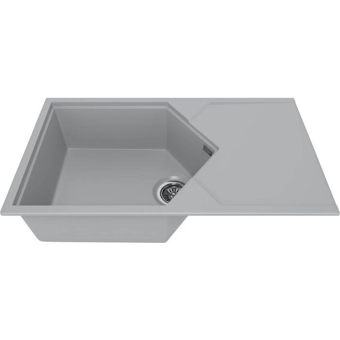 Мойка кухонная KitKraken Sea Grey серая (K-850.7032)