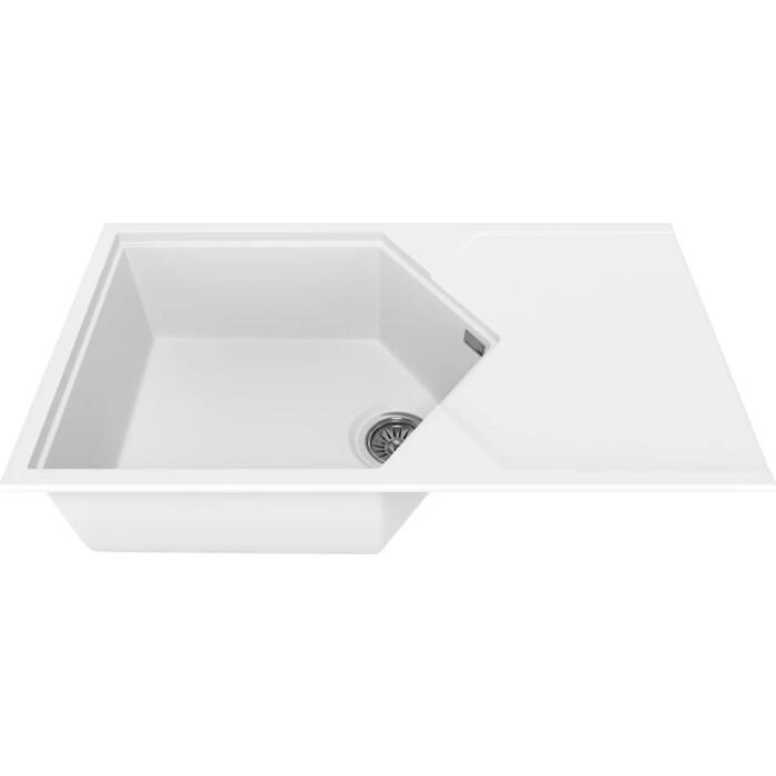 Мойка кухонная KitKraken Sea White белая (K-850.9010)