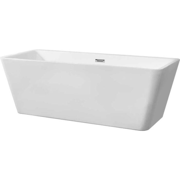 Ванна акриловая Vincea 170x80 см, слив-перелив (VBT-211)