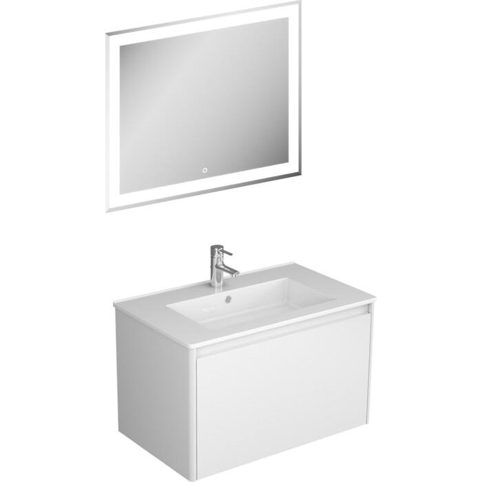 Мебель для ванной Veneciana Aventino 75 с одним ящиком, белая