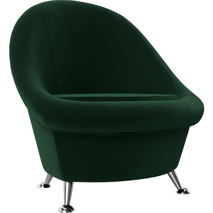 АртМебель Банкетка велюр зеленый