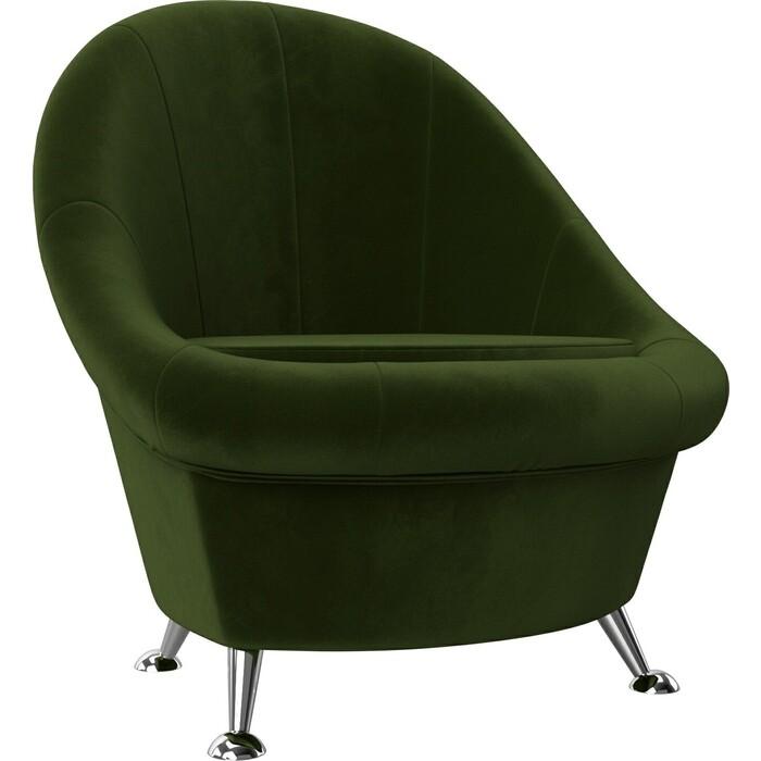 АртМебель Банкетка микровельвет зеленый