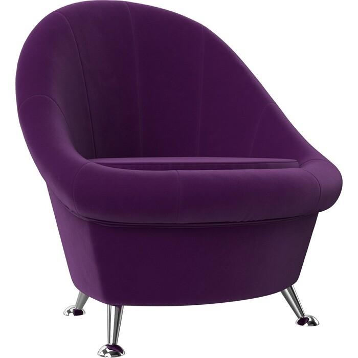 АртМебель Банкетка микровельвет фиолетовый