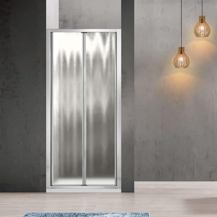 Душевая дверь Vincea Garda VDB-1G 90x190 профиль хром, стекло шиншилла (VDB-1G900CH)