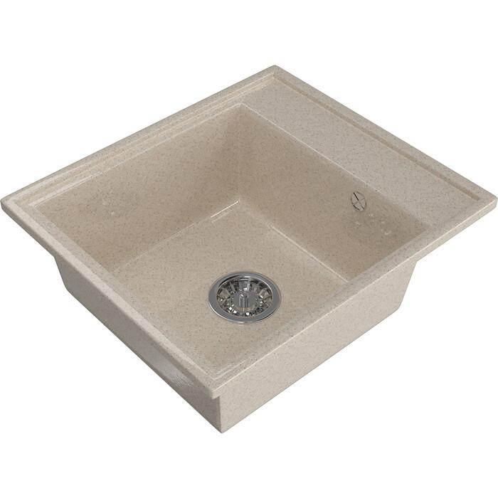 Мойка кухонная Mixline ML-GM Gloss 04 песочная (4630085460930)