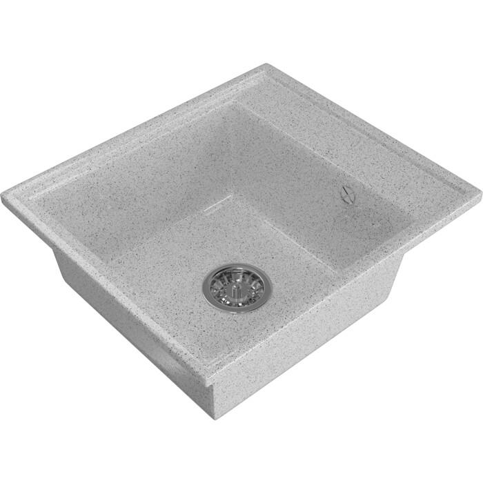Мойка кухонная Mixline ML-GM Gloss 04 серая (4630085460947)