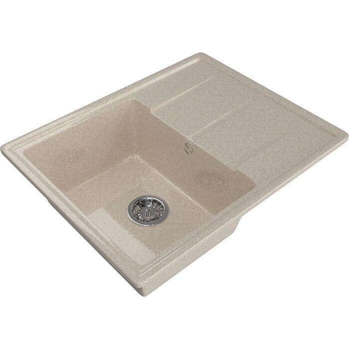 Мойка кухонная Mixline ML-GM Gloss 05 песочная (4630085460985)