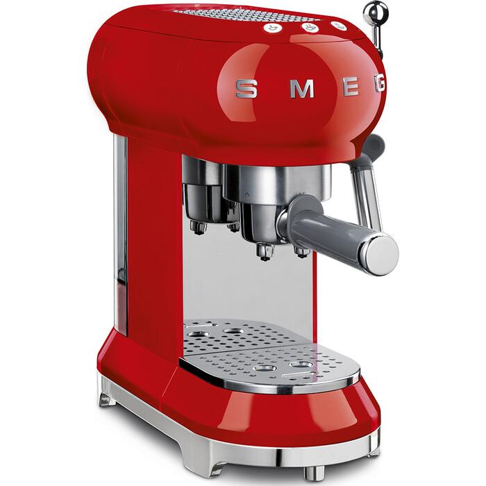 Кофеварка Smeg ECF01RDEU красная