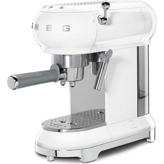 Кофеварка Smeg ECF01WHEU белая