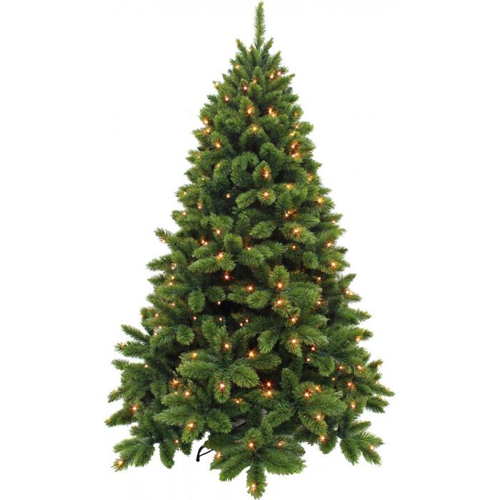 Елка искусственная Triumph Tree Триумф Де Люкс 230 см 328 Ламп Зеленая