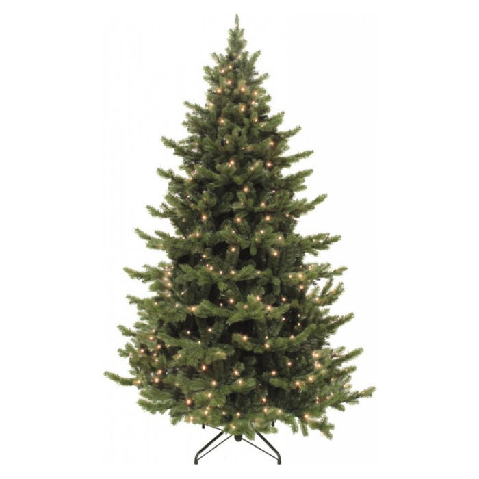 Ель Triumph Tree Шервуд Премиум 230 см 336 Ламп Зеленая