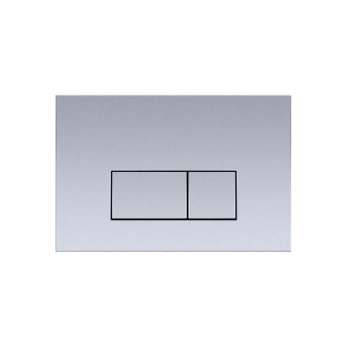Кнопка смыва Aquatek V хром матовый (KDI-0000002)