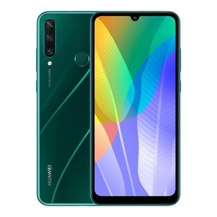 Смартфон Huawei Y6p 3/64Gb green