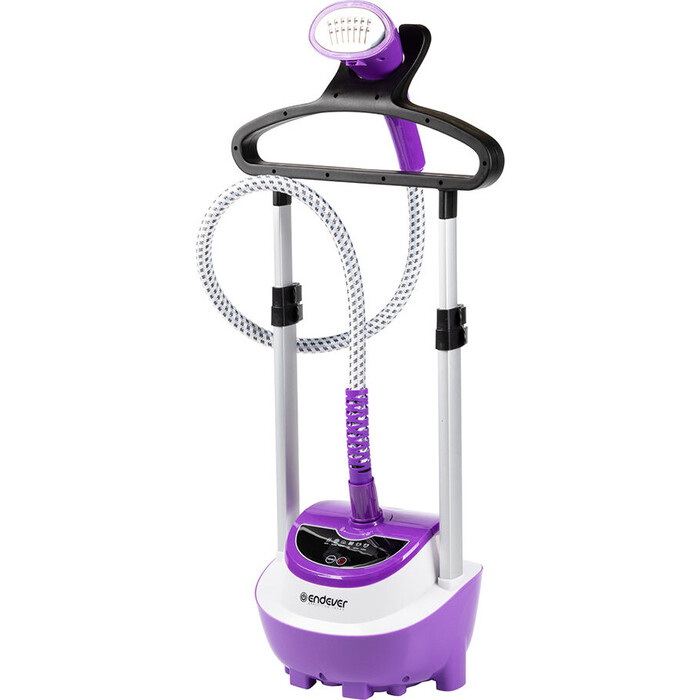 Отпариватель для одежды Endever Odyssey Q-10, белый/фиолетовый