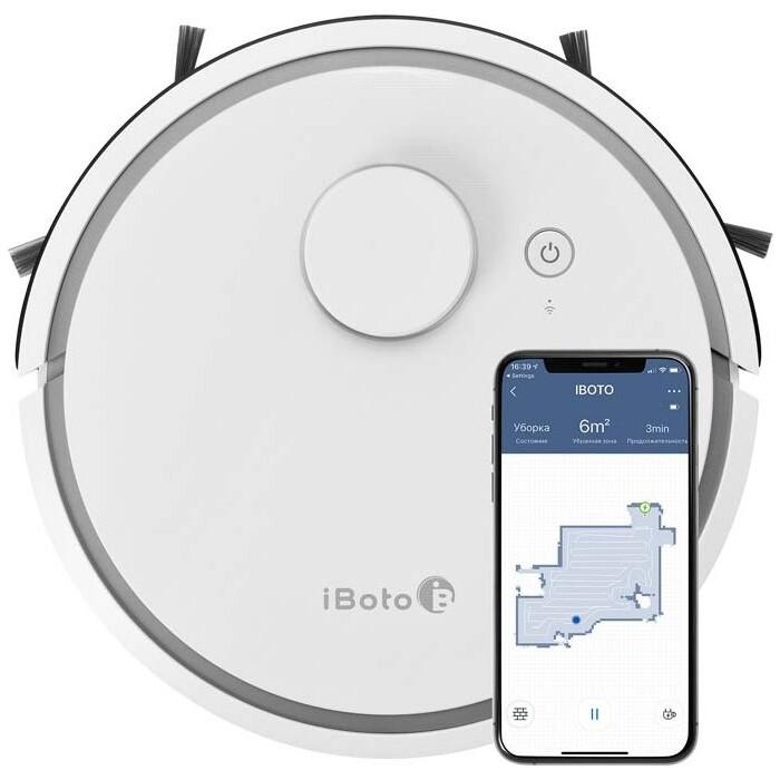 Робот-пылесос iBoto Smart L920W Aqua робот iboto win 199
