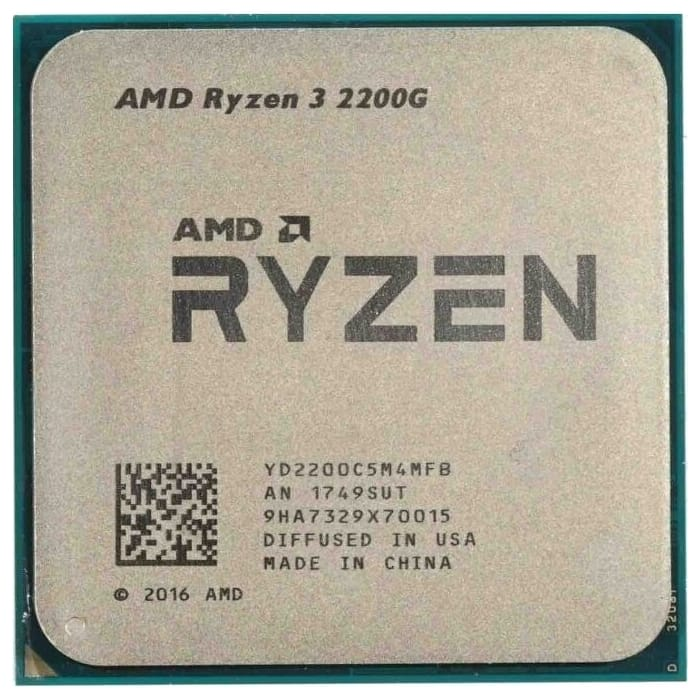 Процессор AMD Ryzen 3 2200G OEM (3.5-3.7GHz, 4MB, 65W, AM4, RX Vega Graphics)