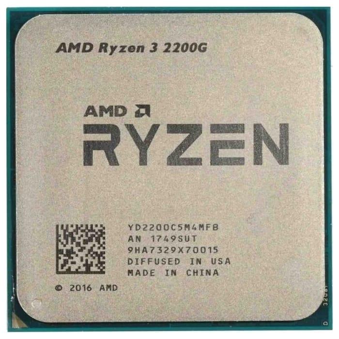 Процессор AMD Ryzen 3 2200G OEM (3.5-3.7GHz, 4MB, 65W, AM4, RX Vega Graphics)