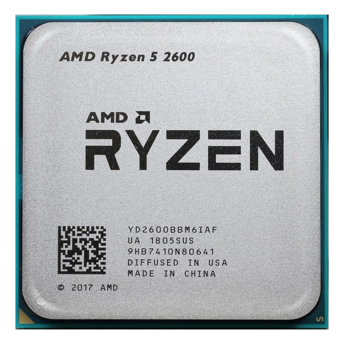Процессор AMD Ryzen 5 2600 OEM (3.9GHz, 19MB, 65W, AM4)