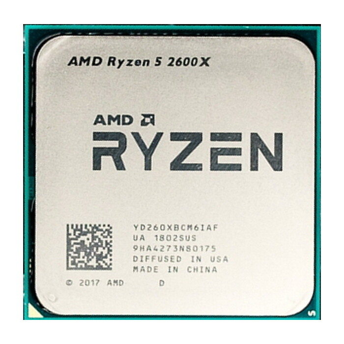 Процессор AMD Ryzen 5 2600X OEM (4.25GHz, 19MB, 95W, AM4)
