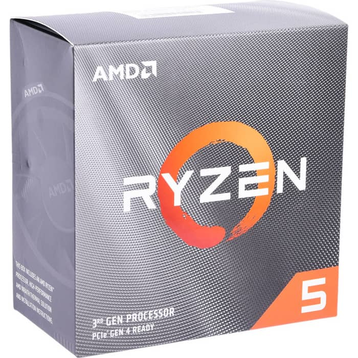 Процессор AMD Ryzen 5 3600 BOX (3.6GHz up to 4.2GHz/6x512Kb+32Mb, 6C/12T, Matisse, 7nm, 65W, unlocked, AM4)