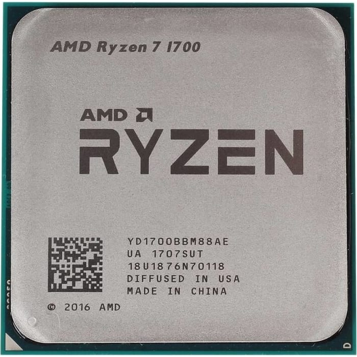 Процессор AMD Ryzen 7 1700 OEM (3.7GHz, 20MB, 65W, AM4)