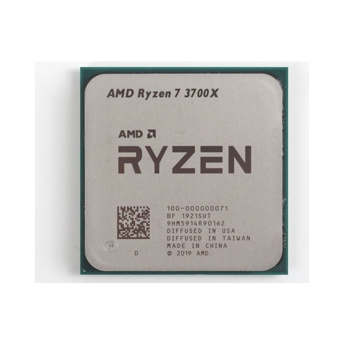 Процессор AMD Ryzen 7 3700X OEM (3.6GHz up to 4.4GHz/8x512Kb+32Mb, 8C/16T, Matisse, 7nm, 65W, unlocked, AM4)