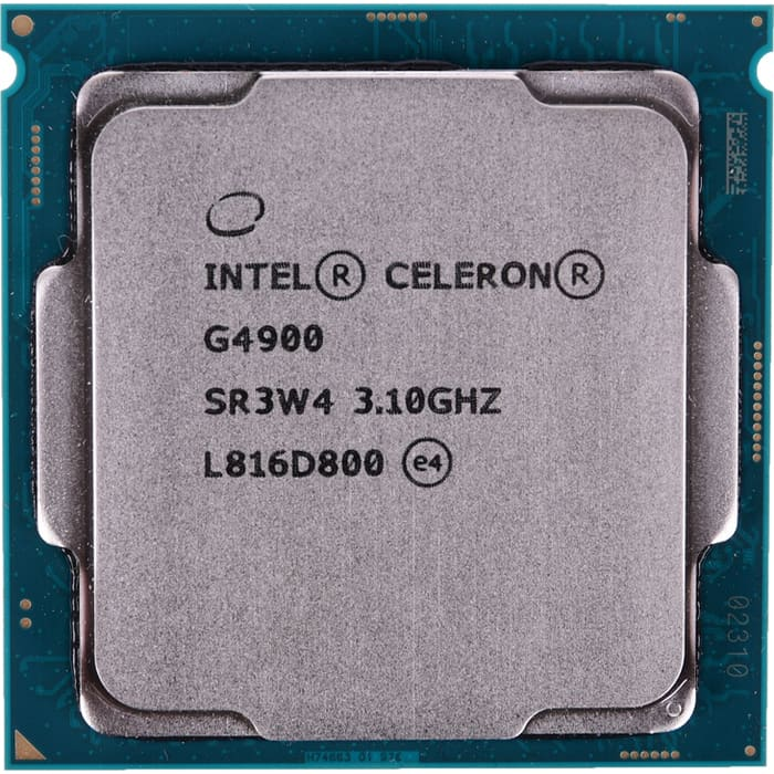 Процессор Intel Celeron G4900 Coffee Lake OEM (3.1ГГц, 2МБ, Socket1151v2)