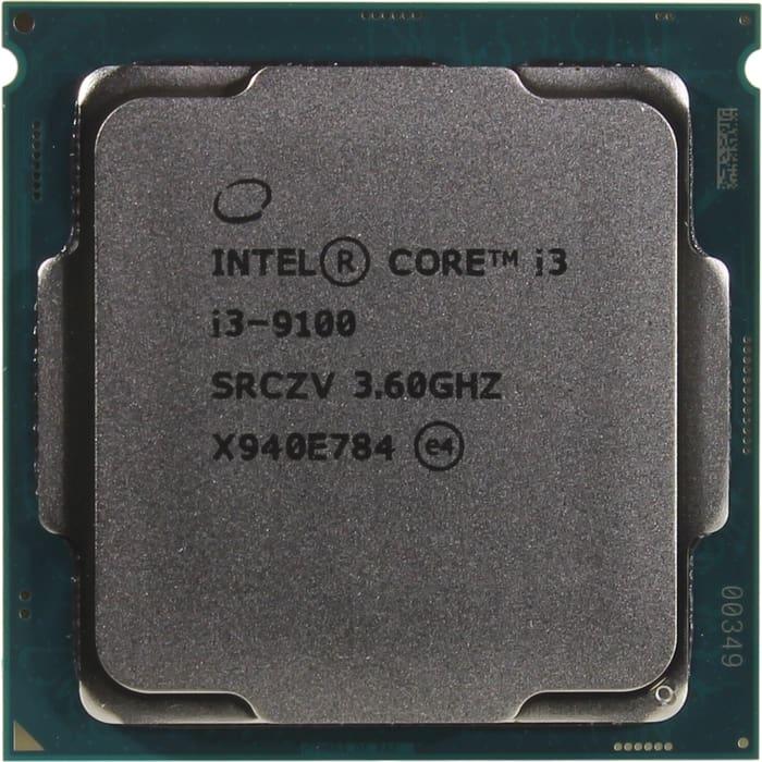 Процессор Intel Intel Core i3-9100 Coffee Lake OEM (3.60Ггц, 6МБ, Socket 1151v2) процессор intel core i3 8350k oem