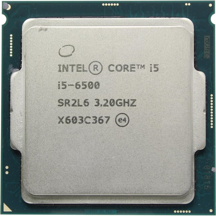 Процессор Intel Core i5-6500 Skylake OEM (3.20Ггц, 6МБ, Socket 1151)