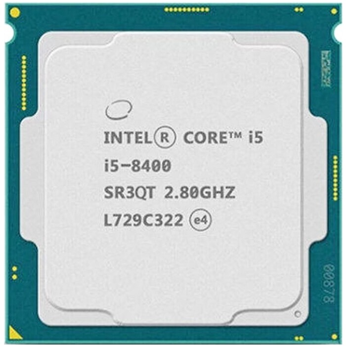 Процессор Intel Core i5-8400 Coffee Lake OEM (2.80Ггц, 9МБ, Socket 1151)