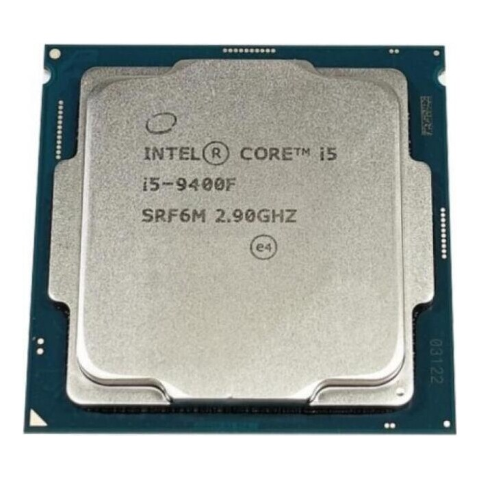 Процессор Intel Core i5-9400F Coffee Lake OEM (2.90Ггц, 9МБ, Socket 1151)