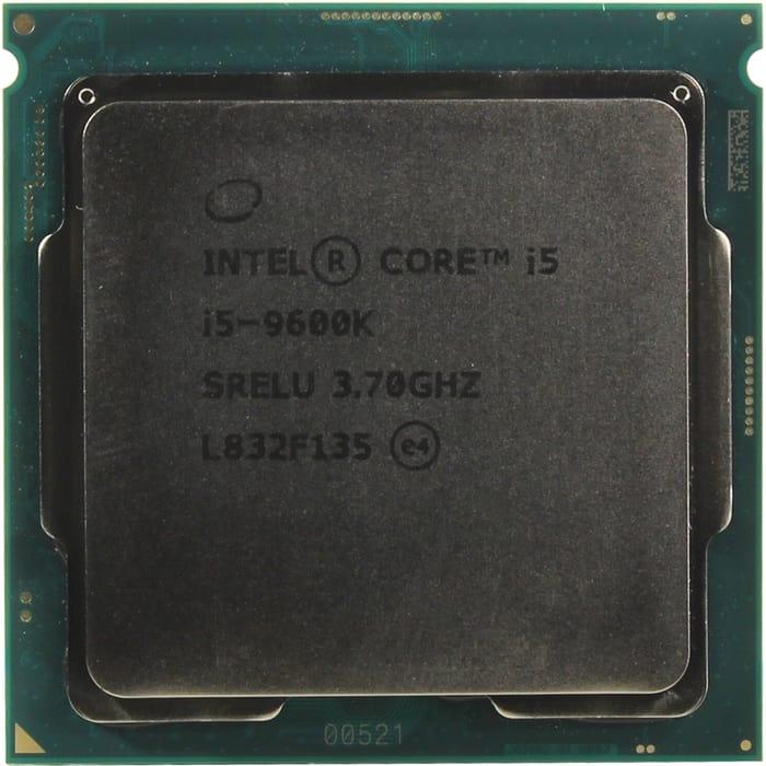 Процессор Intel Core i5-9600K Coffee Lake OEM (3.70Ггц, 9МБ, Socket 1151)