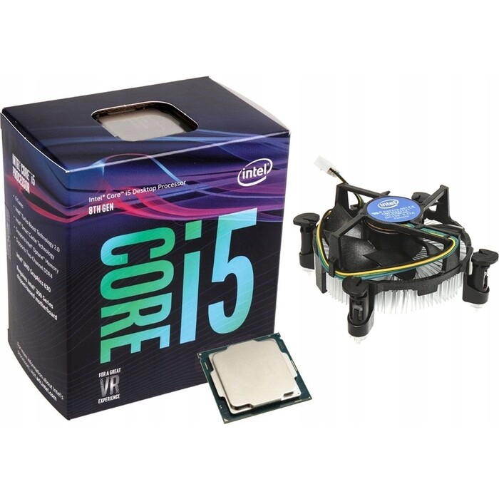 Процессор Intel Core i5-9600KF Coffee Lake BOX (3.70Ггц, 9МБ, Socket 1151 without graphics)