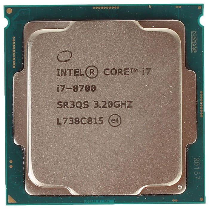Процессор Intel Core i7-8700 Coffee Lake OEM (3.20Ггц,12МБ, Socket 1151)