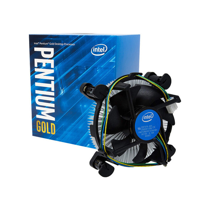 Процессор Intel Pentium Gold G5400 Coffee Lake BOX (3.7ГГц, 4МБ, Socket1151v2)