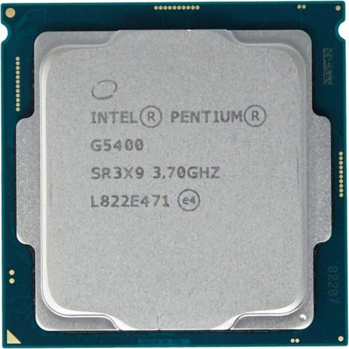 Процессор Intel Pentium Gold G5400 Coffee Lake OEM (3.7ГГц, 4МБ, Socket1151v2)