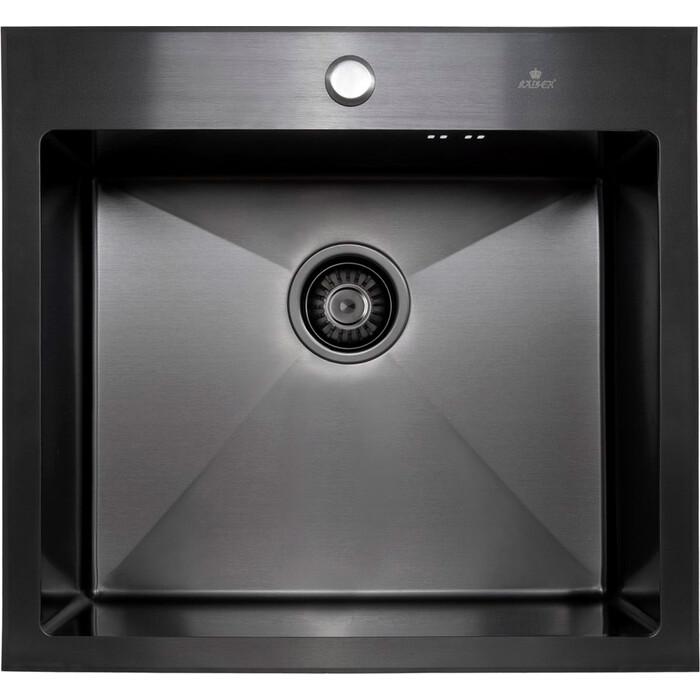 Кухонная мойка Kaiser KSM-5452 нержавеющая сталь, Black (KSM-5452)