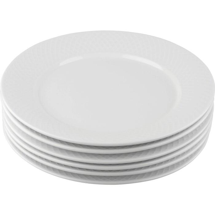 Набор тарелок обеденных Wilmax 25,5см 6шт (WL-880101-JV / 6 C/И4932)