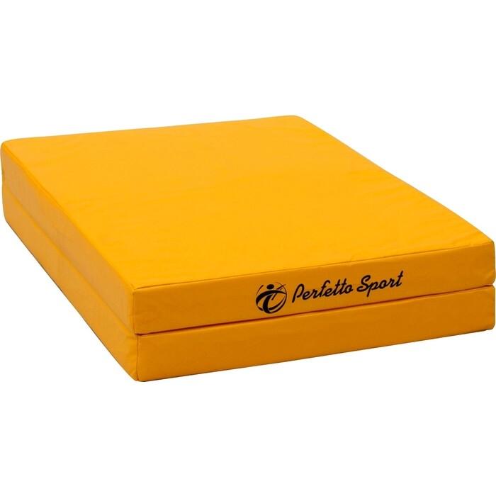 Мат PERFETTO SPORT № 8 (100 х 200 10) складной жёлтый
