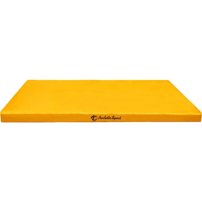 Мат PERFETTO SPORT № 9 (100 х 150 10) жёлтый