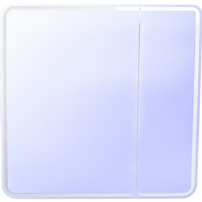 Зеркальный шкаф Style line Каре 80x80 с подсветкой, сенсорный (2000949234342)