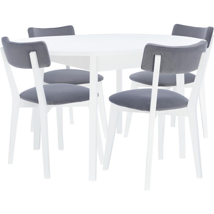 Набор мебели для кухни Leset Говард 1Р белый